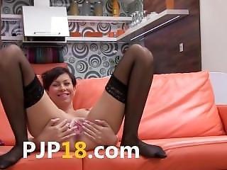 Asiat, Babe, Brasiliansk, Dildo, Finger, Massage, Snuppe