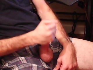 Teen Boy Jerking His Big Cock