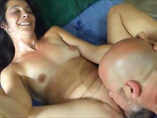 Yoga Hotwife Feeding Cuckold Creampie For Bull