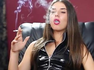 Sasha Smoking