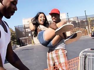 Kimberly Gates Interracial Threesome