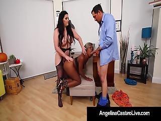 Bbw Angelina Castro Phat Harmonie Marquis Blow Bang Cock