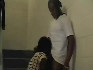 Janitor Fuckin Young Girl On Stairs