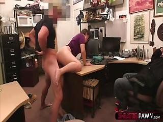 Brunette And Hot Thieves Gets Caught By Shawn And Fucks One Of Them