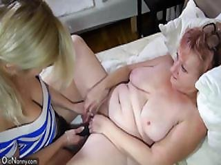 Oldnanny Awesome Granny Lesbian Action