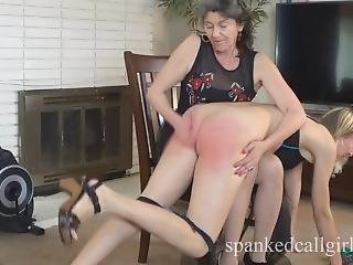 Dominated milf tits spanked by black guy