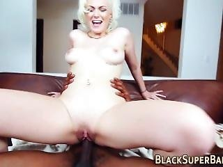 Blonde Teen Takes Big Rod