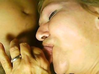 My Granny Slut Giving Gumjob Blowjob