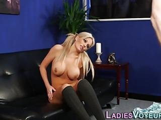 Hot Domina Mocks Dick
