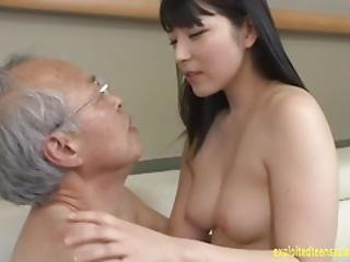 Jav Idol Ai Uehara Fucks Old Duffer On The Couch She Rides Him Hard In Many Pos Shocking Scene
