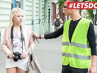 Letsdoeit - Petite Russian Teen Anna Rey Tricked Into Sex By Local Guy