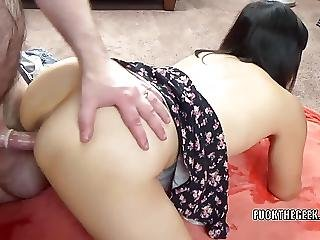 Asian Slut Yuka Ozaki Takes Some Dick From A Lucky Geek