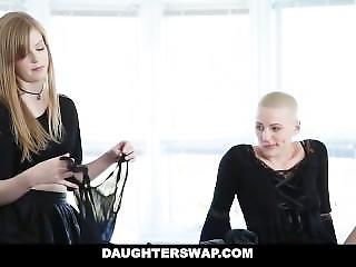 Daughterswap - Gothic Sluts Fucked By Bffs Dad Pt.1