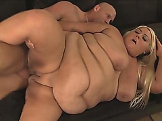 Bbw Blonde Enjoyed In Hardcore Fucking With Strong Dude And She Was Paid For That