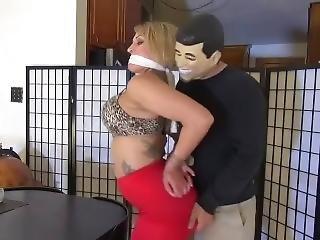 Red Dress Girl Slapped