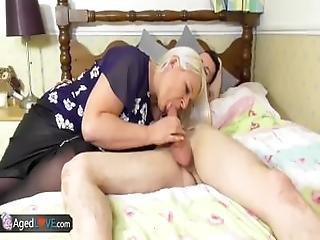 Agedlove Busty Grandma Sammy Sanders Hardcore