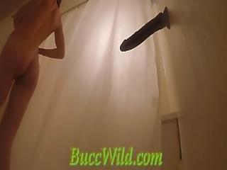 Hidden Camera In Shower...caught Masturbating