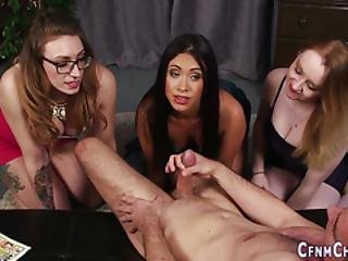 Clothed Brits Stroking