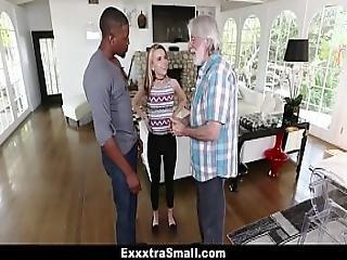 Exxxtrasmall - Small Blonde Teen Fucks Huge Cock