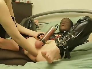 Slut Tied Up, Fisted Then Fucked