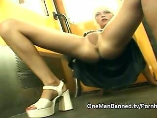 Blonde, Flashing, Public, Reality, Sex