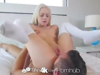 Little Elsa Jean Gets Her Tiny Anal And Pussy Deactivated By Danny Moutain