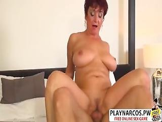 Super Girlfriend Mom Jessica Riding Cock Well Young Friend