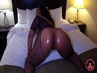 Big Butt Black Ghetto Freak Get Rammed By Bbc