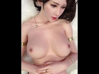 The Doll Looks Like A Real Asian Girl Even The Sound!!! More Porntaken.com