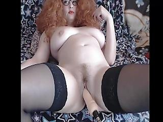 Curly Brown Cutie Get It On Her Underwear In The End P03