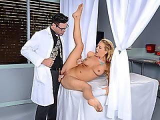 cul, blonde, pipe, docteur, nique, star du porno