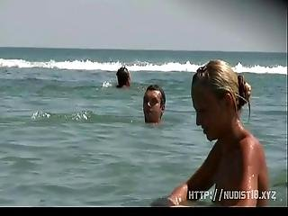 Spying On Naked Teenagers On The Nude Public Beach