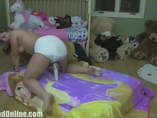 Adriana Messy Diaper Humps Horsey