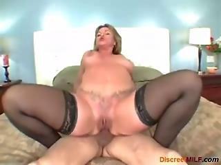 Big ass milf anal tube
