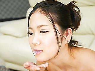 Pijp, Sperma, Sperma In De Mond, Dubbele Pijp, Lingerie, Sexy, Tiener, Trio, Werkplaats