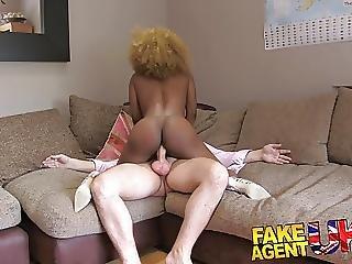 Fakeagentuk Perfect Ass And Tits Ebony Chick Wants Sex