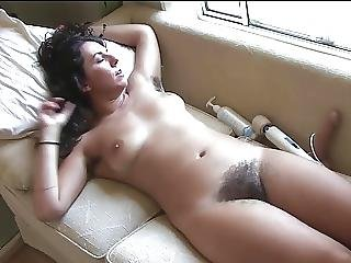 Dildo, Owłosiona, Masturbacja, Nastolatki