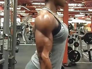 Fbb Shanique Grant Pumped Biceps