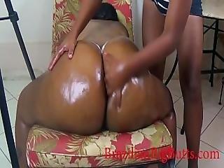 Butt Cheeks Massage