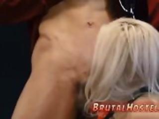 blond, bondage, sød, gagging, rå, tattovering