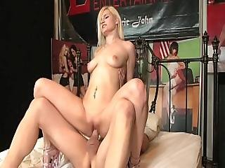 Busty Blonde Raven Dawn Gets Fucked And Creamed By Exprerienced Stud