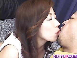 Aki Nakamura Is Fingered In Hairy Fish Taco