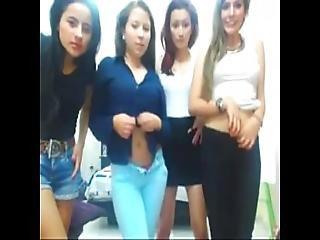 Cuatro Caliente Latinas Desnudandose Por Webcam - Www.addictsex.net