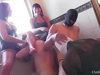 Pee Slave For 2 Mistress