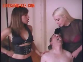 bondage, cam jente, fetish, røyking, spytt