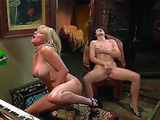 Mature Lesbians Play With Their Pussies