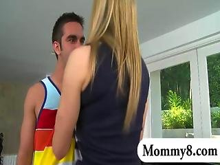 Mature Female Piano Teacher In A Threesome With A Teen Couple
