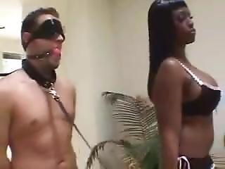 Ebony, Fucking, Mistress, Slave