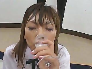 DRINKERS SEMEN Konatsu Kurokawa