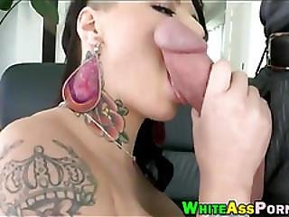 Big Ass Tattooed Whore Christy Mack Slammed Real Hard